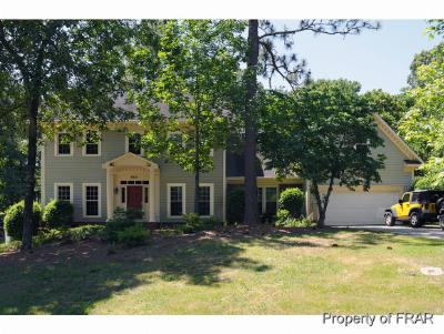 Fayetteville NC Single Family Home For Sale: $266,200
