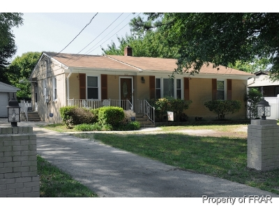 Fayetteville NC Single Family Home For Sale: $74,000
