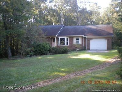 Raeford Single Family Home For Sale: 336 Sanders Road