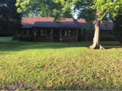 Fayetteville Single Family Home For Sale: 6529 Camden Road