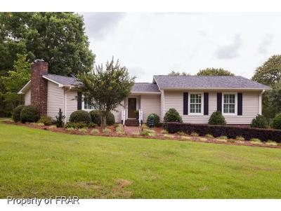 Harnett County Single Family Home For Sale: 1135 Joel Johnson Road