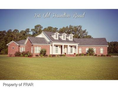 Harnett County Single Family Home For Sale: 238 Hamilton Road