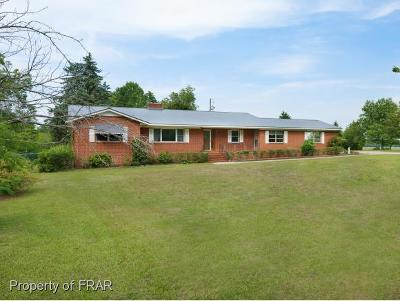 Lumber Bridge Single Family Home For Sale: 6083 Saint Pauls Rd