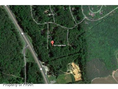 Residential Lots & Land For Sale: 7017 Cedar Rd