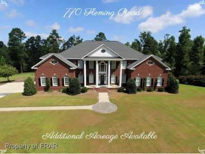 Harnett County Single Family Home For Sale: 770 Fleming Rd #3
