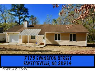 Fayetteville NC Single Family Home For Sale: $79,900
