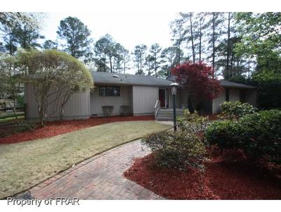 Fayetteville Single Family Home For Sale: 3305 Hutton Pl