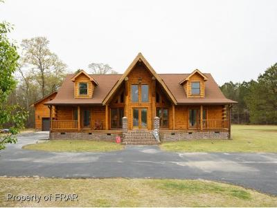 Hoke County Single Family Home For Sale: 514 Creek Farm Rd