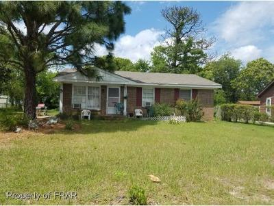 Fayetteville NC Single Family Home For Sale: $50,000