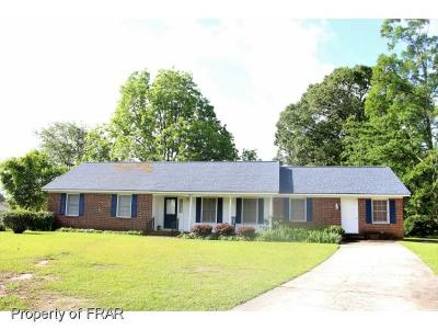 Fayetteville NC Single Family Home For Sale: $123,900