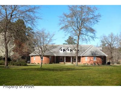 Hoke County Single Family Home For Sale: 1007 East Prospect Avenue