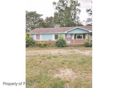 Fayetteville NC Single Family Home For Sale: $32,500