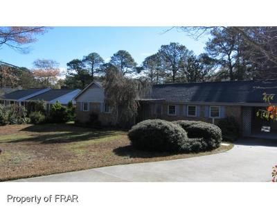 Fayetteville NC Single Family Home For Sale: $189,000
