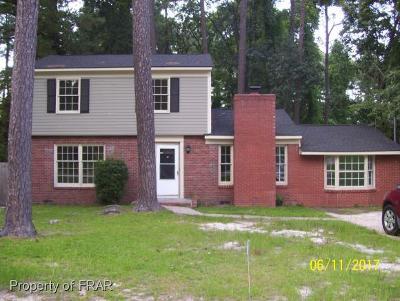 Fayetteville Single Family Home For Sale: 733 Ashboro St.