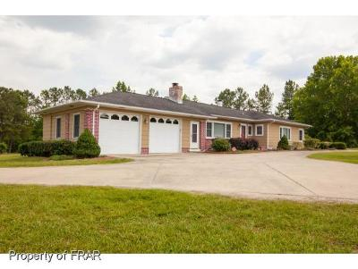 Harnett County Single Family Home For Sale: 281 Buffalo Lake Road