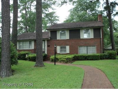 Robeson County Single Family Home For Sale: 2501 McMillan Ave