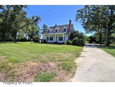 Robeson County Single Family Home For Sale: 2961 Olivet Church Rd