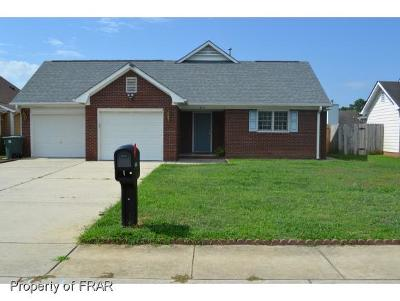 Fayetteville NC Single Family Home For Sale: $139,500