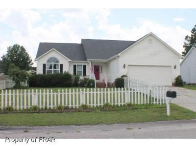 Hope Mills NC Single Family Home For Sale: $173,500