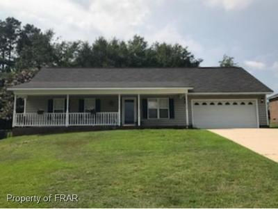 Hope Mills NC Single Family Home For Sale: $139,900