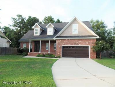 Hope Mills NC Single Family Home For Sale: $274,900