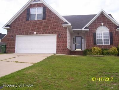 Hope Mills NC Single Family Home For Sale: $169,900