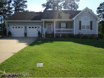Hope Mills NC Single Family Home For Sale: $147,500