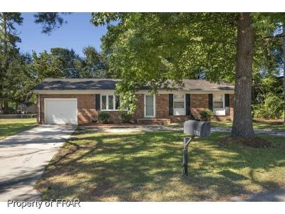 Fayetteville Single Family Home For Sale: 7354 Ryan St