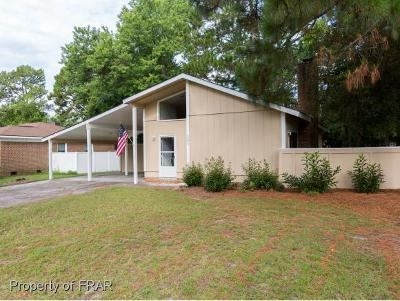 Fayetteville NC Single Family Home For Sale: $81,500