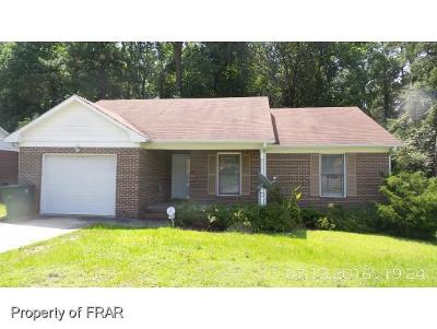 Fayetteville NC Single Family Home For Sale: $83,500