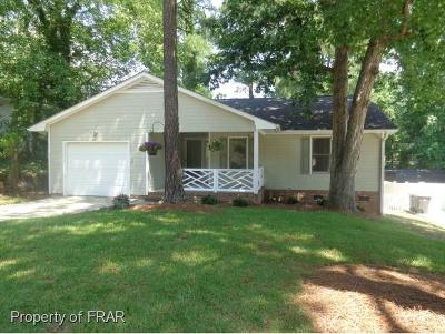 Fayetteville NC Single Family Home For Sale: $120,000