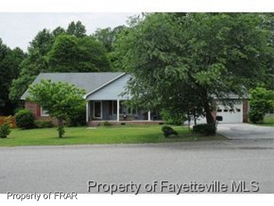 Fayetteville NC Single Family Home For Sale: $184,999