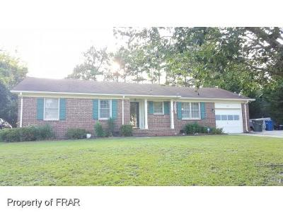 Fayetteville NC Single Family Home For Sale: $98,000