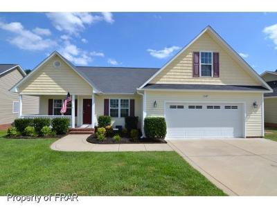 Fayetteville NC Single Family Home For Sale: $154,900