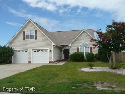 Hope Mills NC Single Family Home For Sale: $175,000