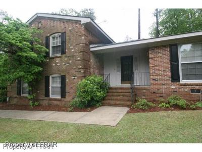 Fayetteville NC Single Family Home For Sale: $240,000