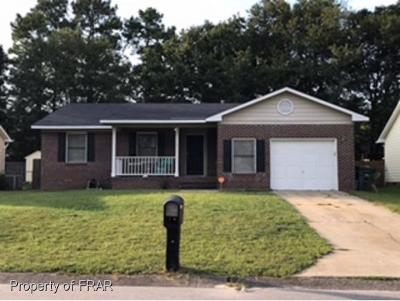 Fayetteville NC Single Family Home For Sale: $99,500