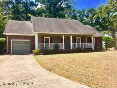 Fayetteville NC Single Family Home For Sale: $109,000