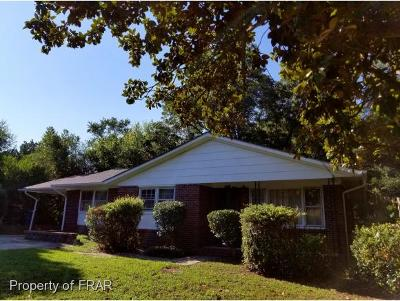 Fayetteville NC Single Family Home For Sale: $84,000
