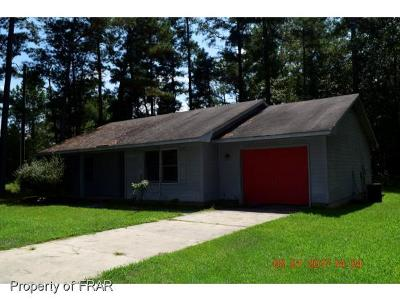 Hope Mills NC Single Family Home For Sale: $59,850