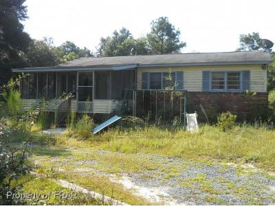 Hope Mills Single Family Home For Sale: 2032 Memory Rd