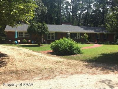 Fayetteville Single Family Home For Sale: 800 Longview Drive Ext