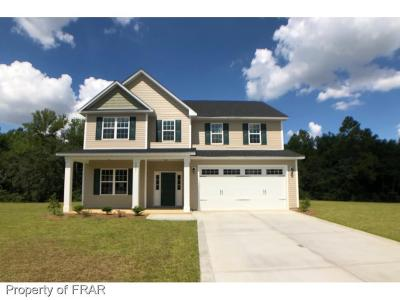 Fayetteville Single Family Home For Sale: 3001 McCandless Court (Lot 86) #86