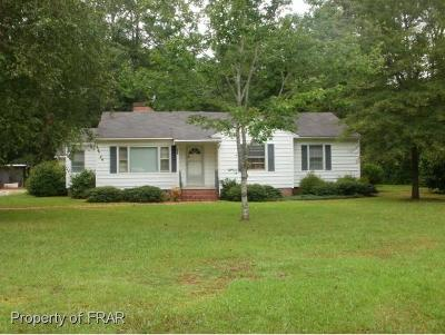 Harnett County Single Family Home For Sale: 427 Bunnlevel Erwin Road