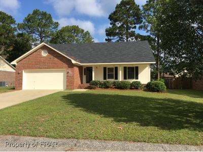 Fayetteville Single Family Home For Sale: 7120 Avila Drive