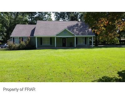 Fayetteville Single Family Home For Sale: 2963 Thrower Rd