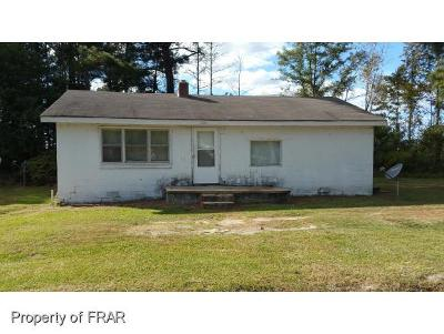 Red Springs NC Single Family Home For Sale: $18,000