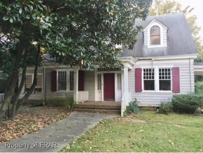 Fayetteville NC Single Family Home For Sale: $94,000