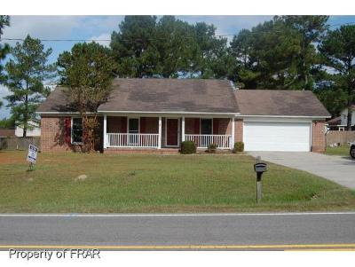 Raeford Single Family Home For Sale: 6951 Rockfish Road