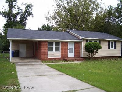 Fayetteville NC Single Family Home For Sale: $77,000